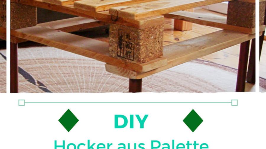 Hocker aus Paletten - Letz do diz